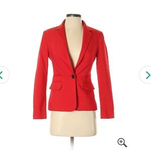 Express red blazer